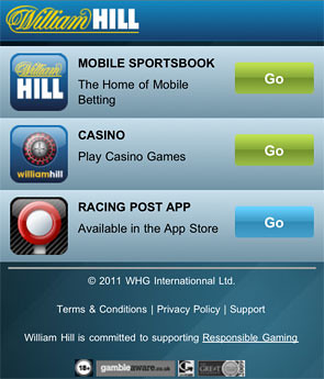 William hill mobile bacará dinero real 480397