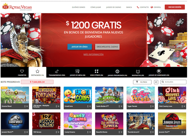 Casino online Royal Panda bonos por registro 80669