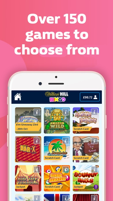 Tragaperras bingo william hill app 772955