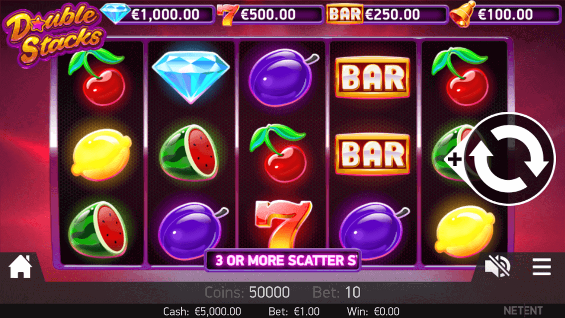 Casino en Alemania double stacks netent 166696